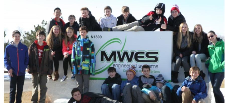 Middle School Robotics Tour