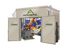 ADDere III laser wire additive manufacturing cell