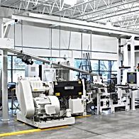 MWES Laminating Line with Automted Packaging