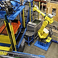 MWS Die Cast Robot Tending Automation