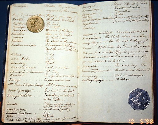 William Dawes notebooks