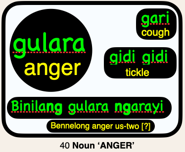 40 gulara ANGER