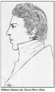 Portrait of William Dawes by Tsuroi-Rinn Uhle