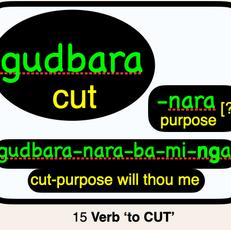 15 gudbara CUT
