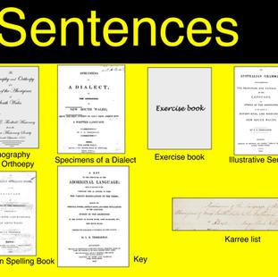 Sentences - Spelling Book