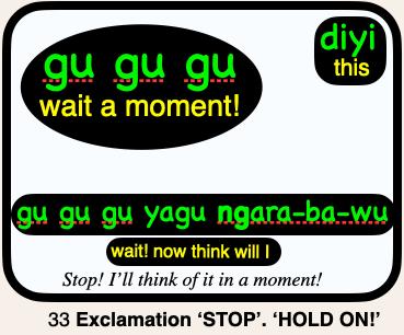 33 gu gu gu STOP