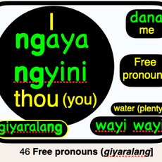 46 giyaralang FREE PRONOUNS