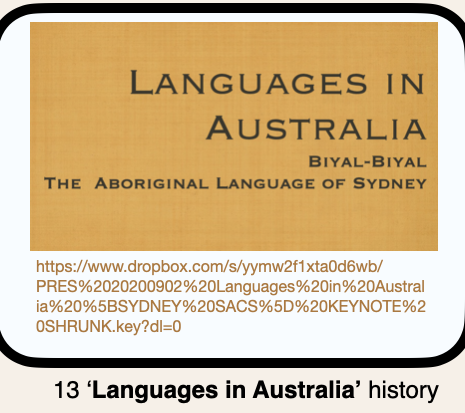 13 Languages In Australia History