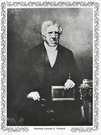 Reverend Lancelot E. Threlkeld