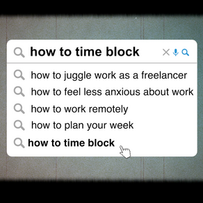 Juggling Remote Work with Time blocking