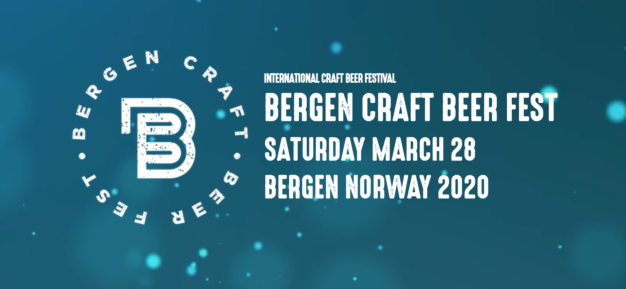 Craft Beer Festival 2020.Bergen Craft Beer Fest 2020