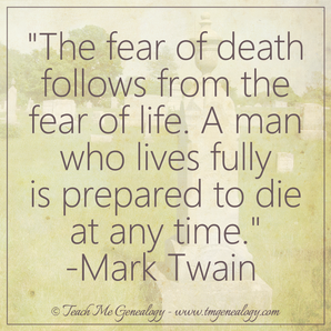 "Why ""fear of death tomorrow"" prevents ""joy of life today"""