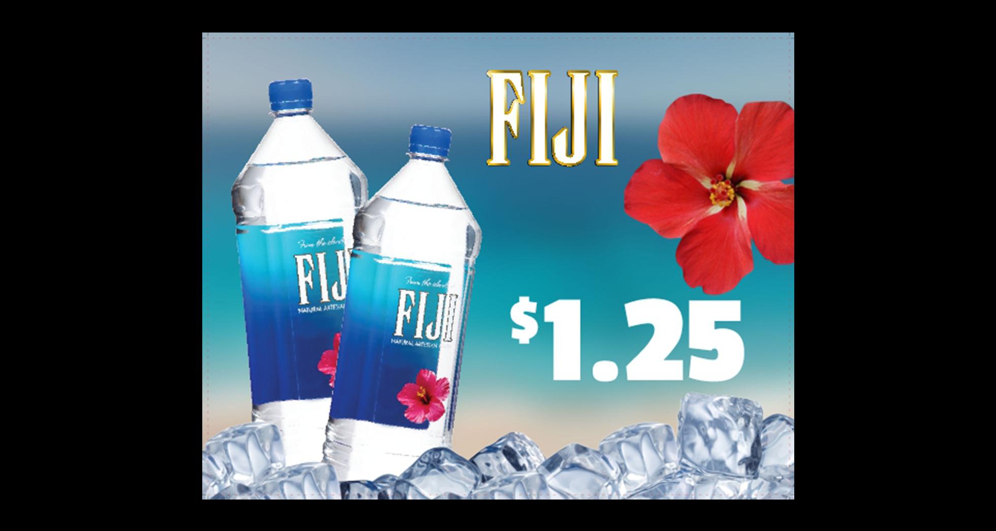 Fiji Water Cstoresignage