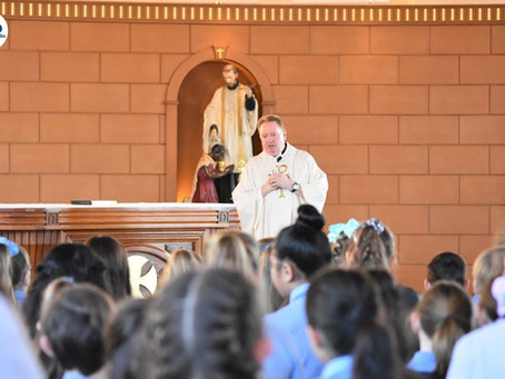 Fr Grant's First Mass