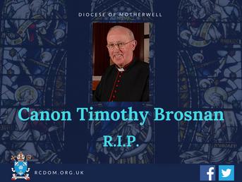 Months Mind Mass for Canon T. Brosnan
