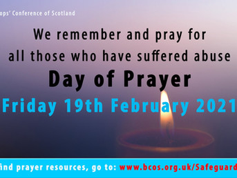 Day of Prayer for all who have suffered from abuse