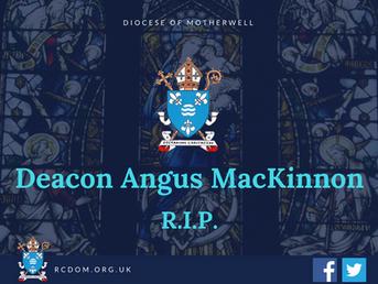 Deacon Angus MacKinnon RIP