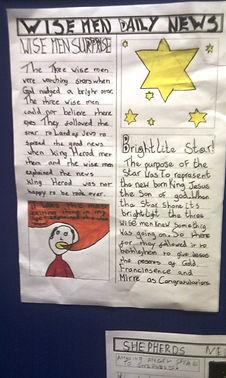 Wise Men Daily News, St Timothy's Coatbridge
