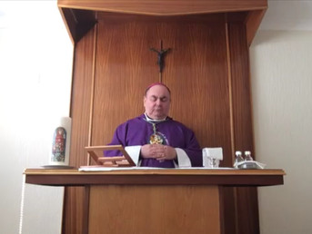 Sunday Mass with Bishop Toal