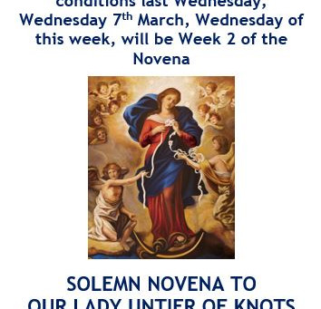 Our Lady Untier of Knots Novena