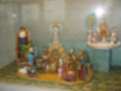 Crib from USA, Assisi exhibition