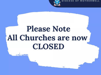 Closure of Parish Churches