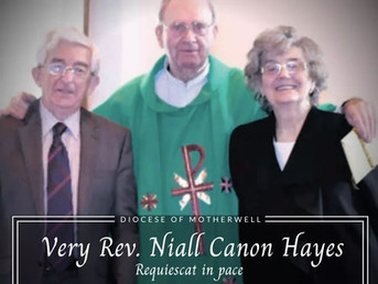 Canon Niall Hayes RIP