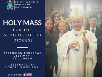 Invitation to School Communities to join Bishop Toal for Holy Mass
