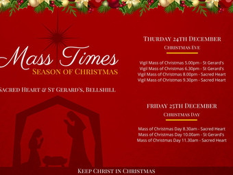 Christmas Mass Bookings