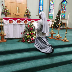 Sister Benedine's Renewal of Vows