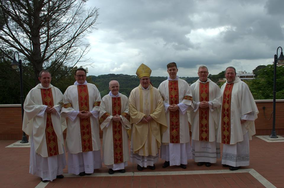 Newly ordained Deacons in Rome