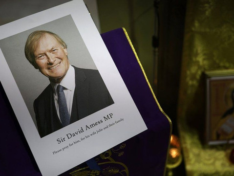 Bishop Toal issues statement on death of Sir David Amess