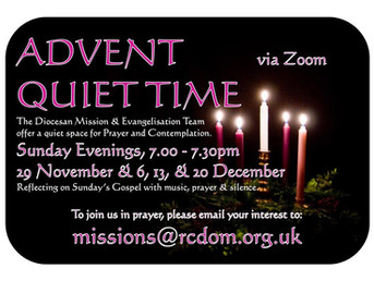 Advent Quiet Time