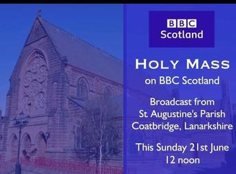 Sunday Mass on BBC Scotland