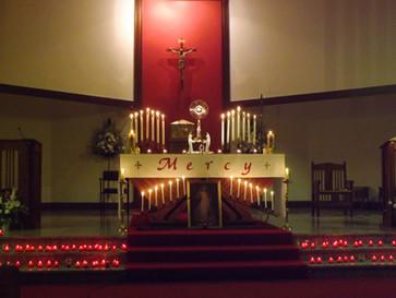 All-Night Vigil in St Gerard's