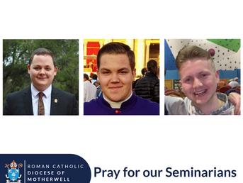 Seminarians return to Rome