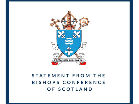 Statement from the Bishops of Scotland