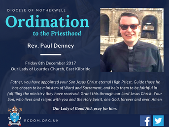Ordination of Rev Paul Denney