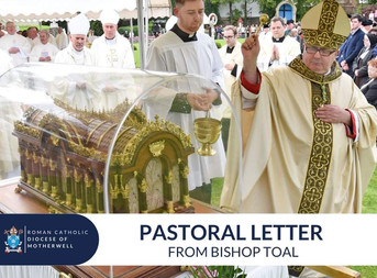Pastoral Letter from Bishop Toal