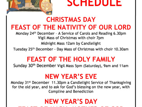 Christmas Masses