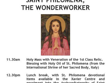 St Philomena Pilgrimage
