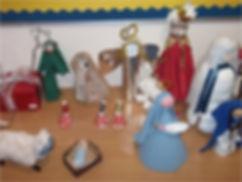 Crib figures, St John's Uddingston