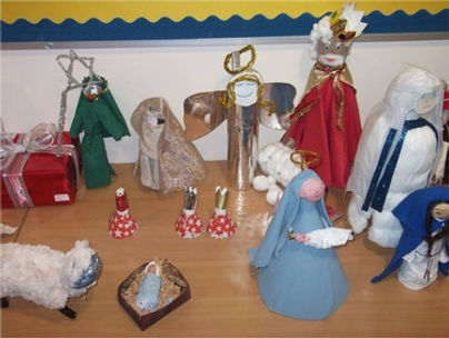 Crib figures, St John's Uddingston