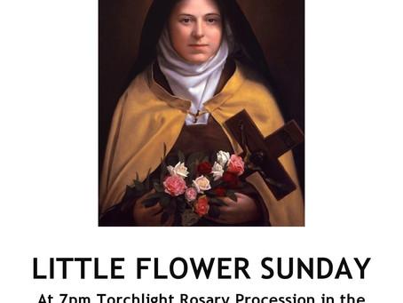 Little Flower Sunday
