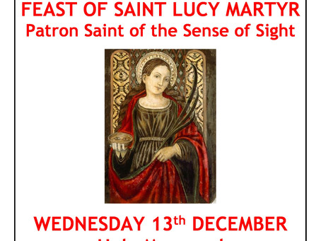 Feast of St Lucy
