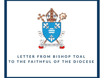 Letter from Bishop Toal to the Faithful of the Diocese