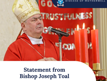 Statement from Bishop Toal