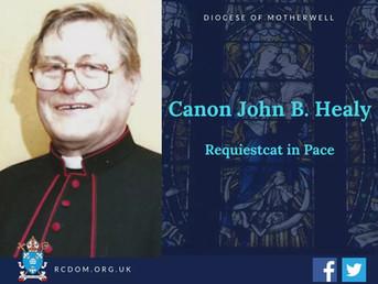 Canon John B. Healy RIP