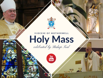 Sunday Mass online with Bishop Toal