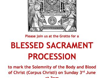 Diocesan Corpus Christi Procession